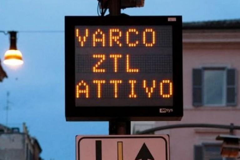 Varco ZTL attivo