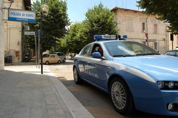 Volante Questura di Matera Polizia di Stato