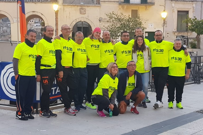 Yellow run Matera