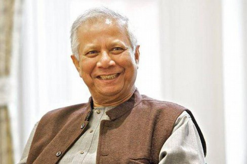il Nobel per la Pace Muhammad Yunus
