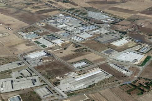 zona industriale Jesce